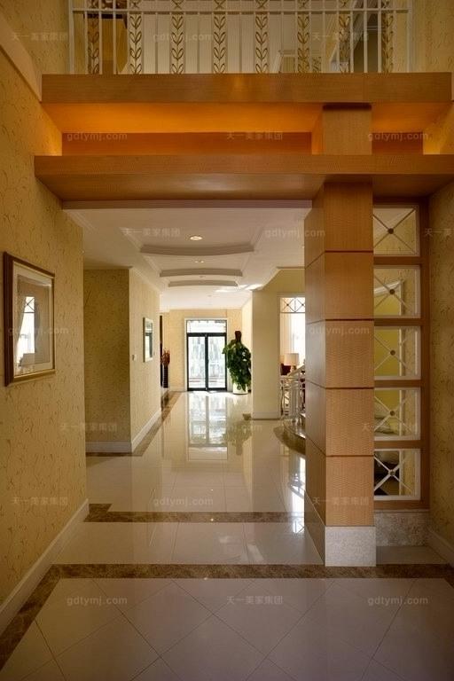 豪门别墅走廊