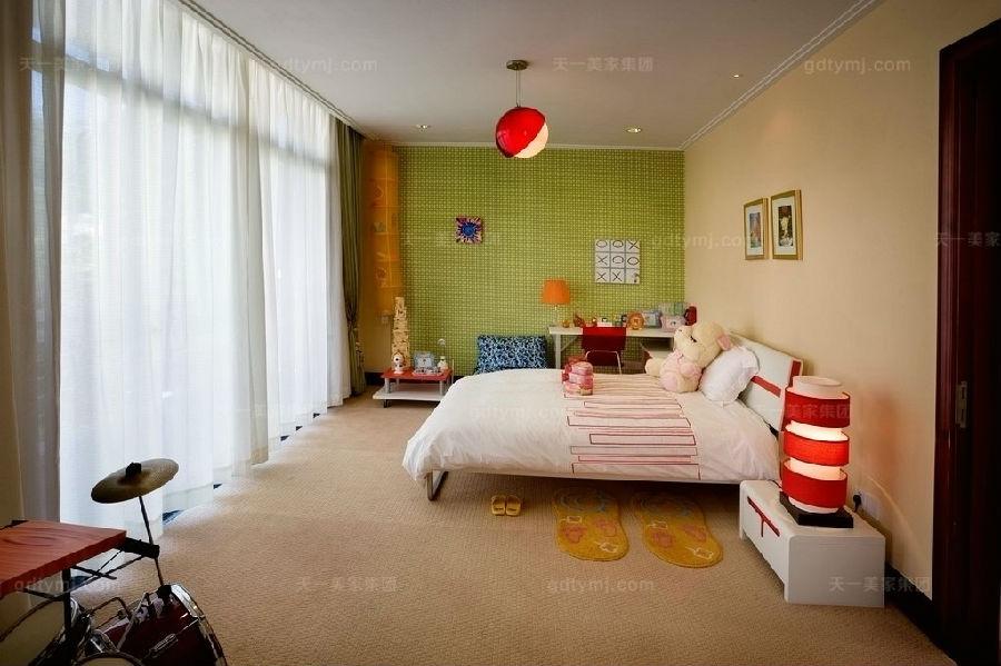 豪门别墅现代风卧室