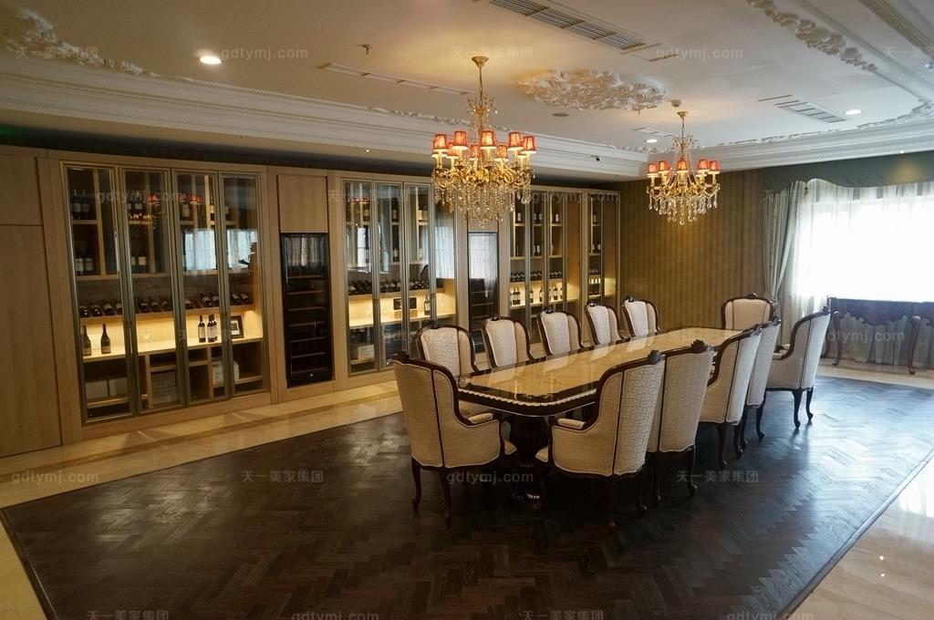 奢华新古典风品酒区