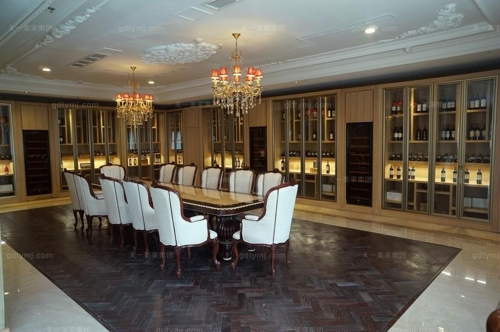 奢华新古典风品酒区1