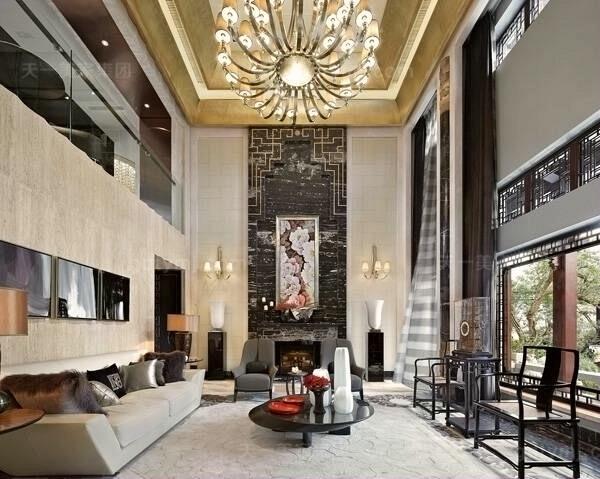 现代风格客厅7