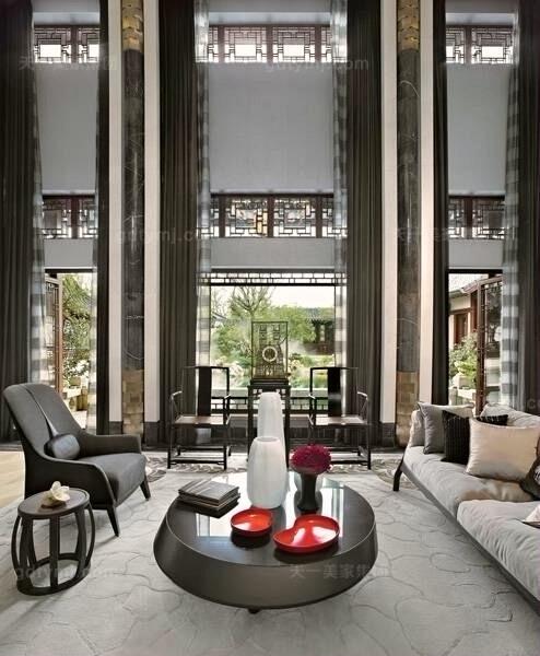 现代风格客厅8