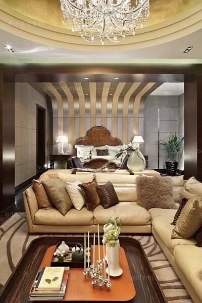 现代风格客厅14