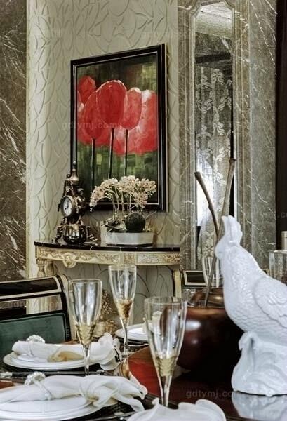 现代风格餐厅1
