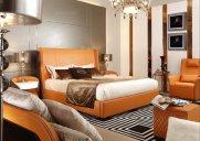 【卧室】带您领略,高端后现代万博手机网页,奢华大气!