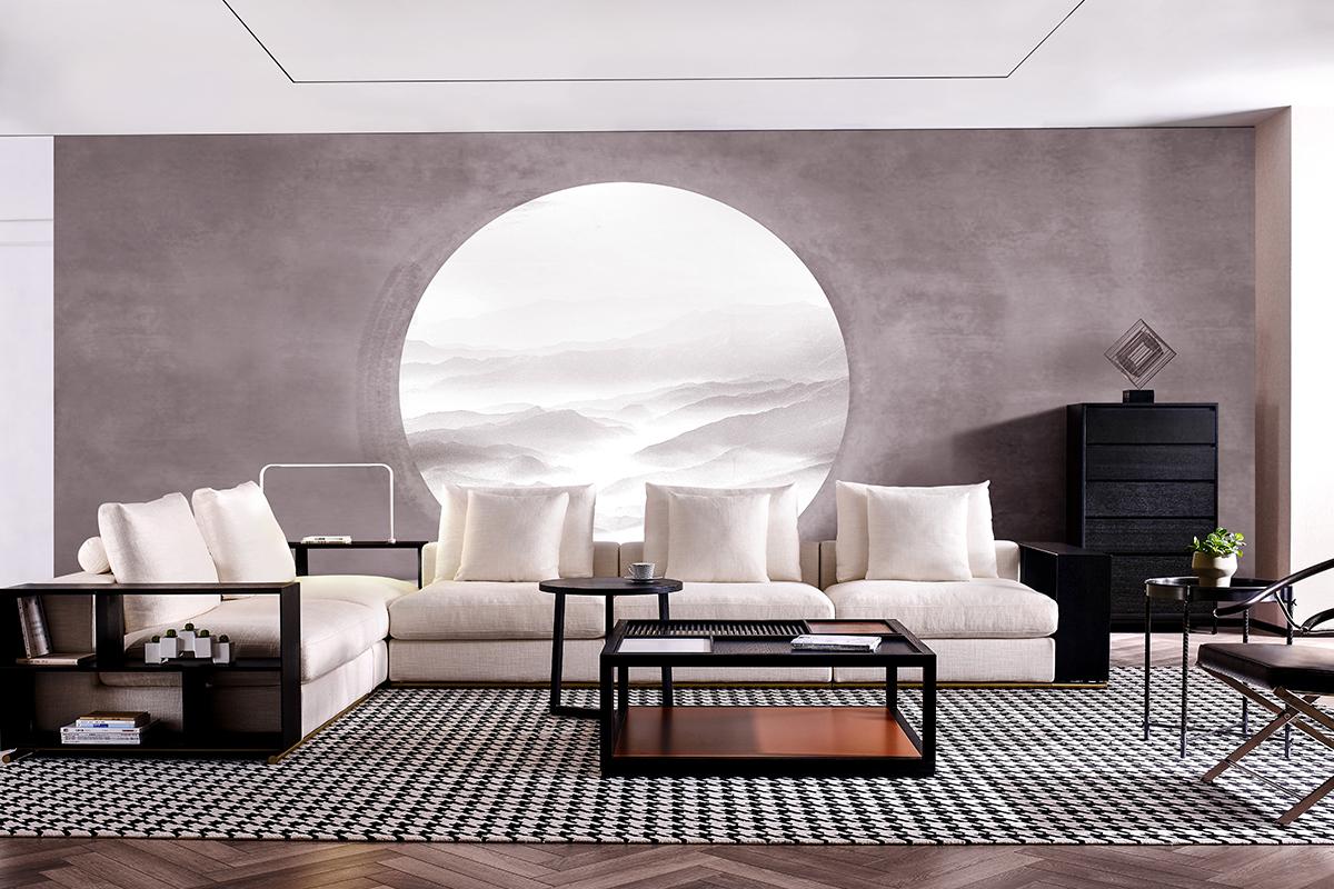意大利極簡主義整體家居-ty-jsj系列,呈現不一樣的現代簡約家具風情!圖片