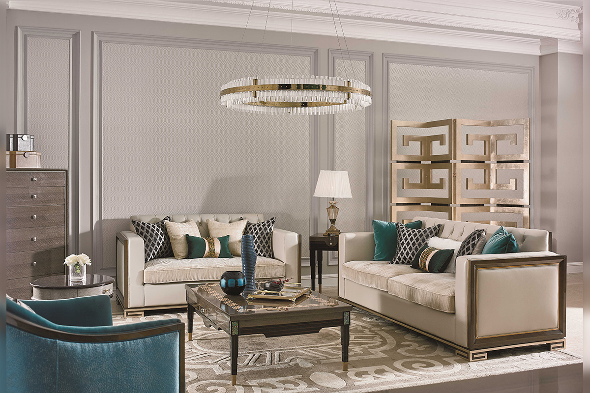 轻奢主义客厅沙发图片
