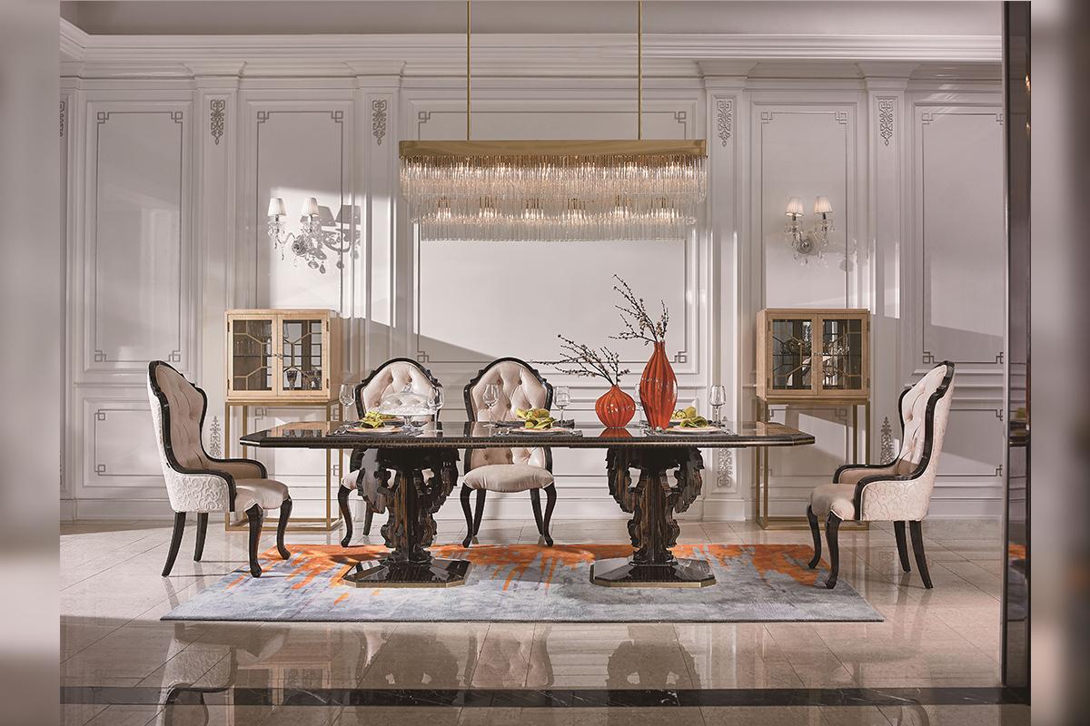 轻奢风格家具正流行,来一场低调轻奢主义的艺术探索吧