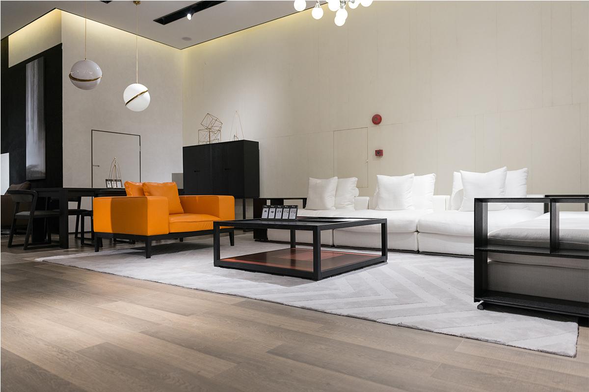 现代极简奢家具客厅沙发