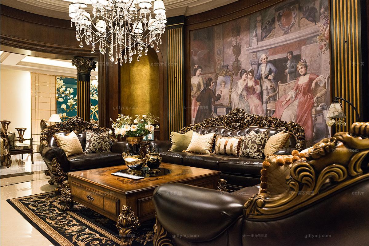 看看美式古典风格是如何诠释大美式风范的,美式古典家具的特点解析!图片