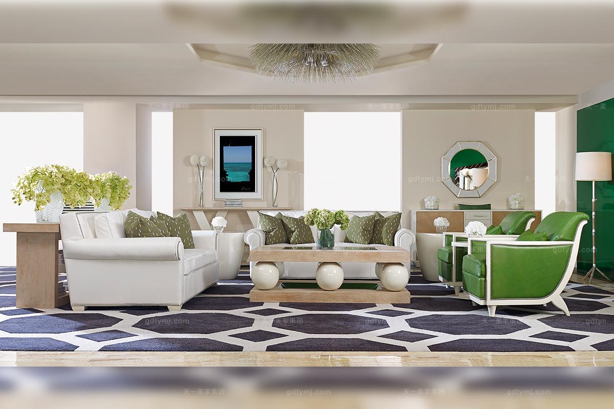 万博app手机版万博manbetx客户端美式田园风客厅沙发
