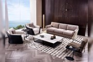 优雅的简奢风格装修,好彰显意式现代家具风意境!