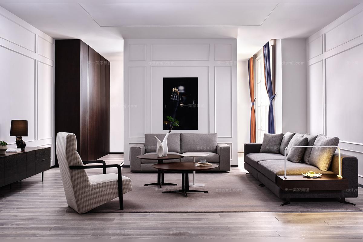 高档简奢风格客厅沙发组合图片