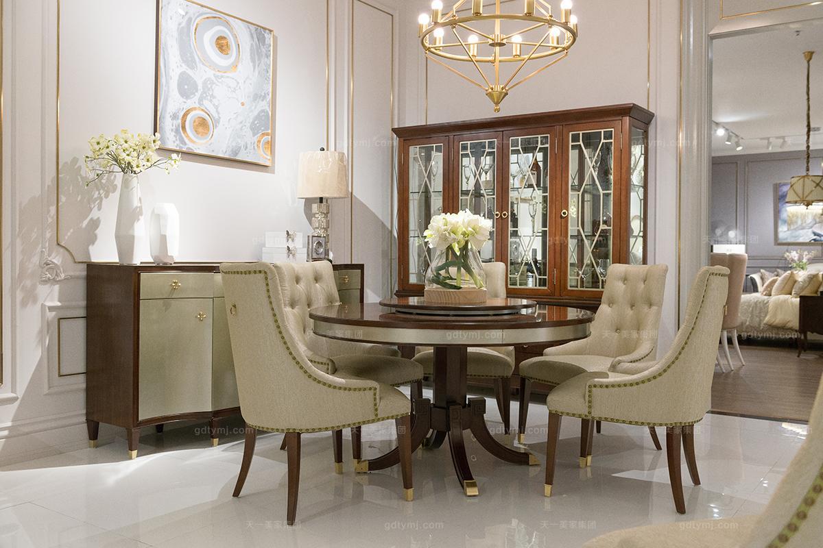 奢华豪宅家具餐桌椅