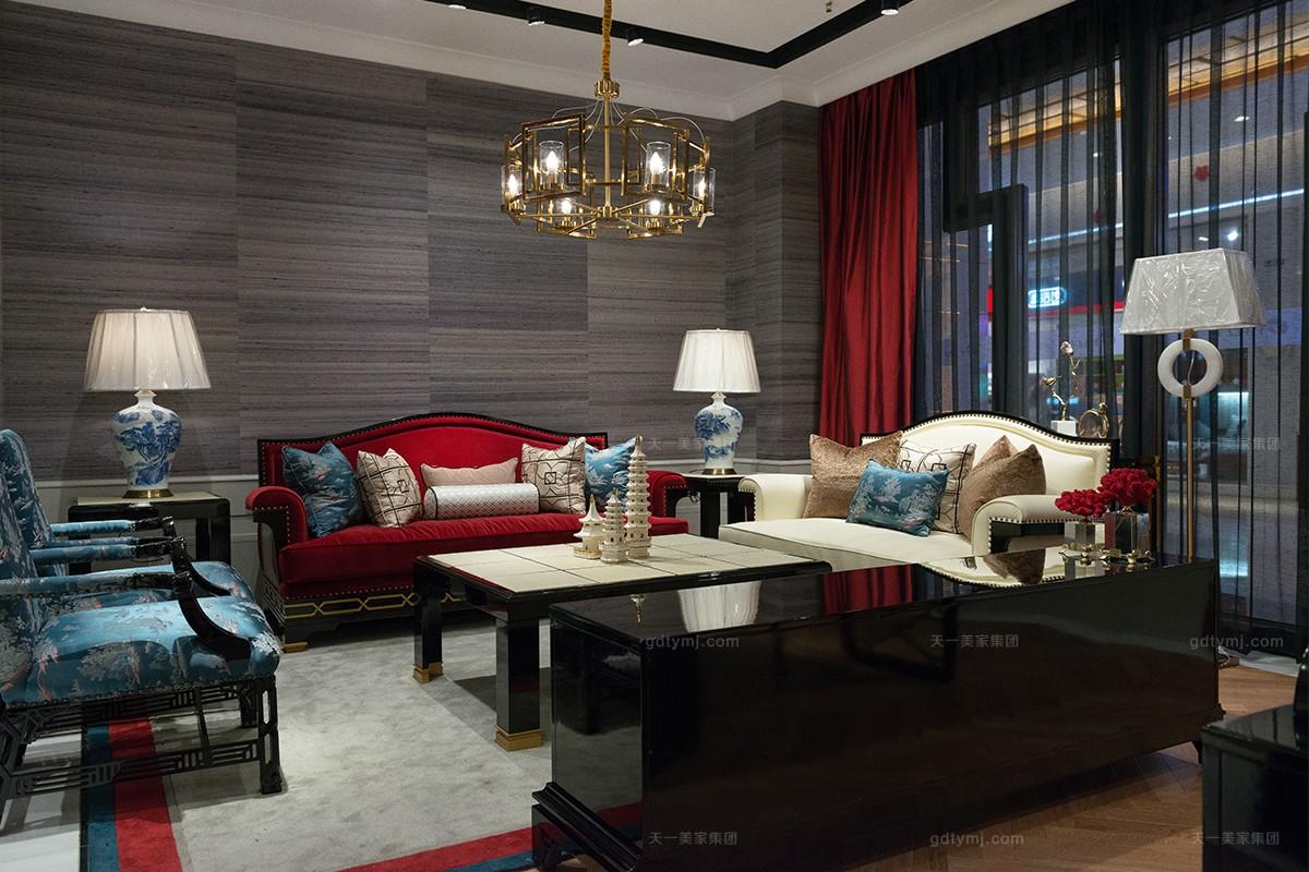 万博app手机版万博manbetx客户端轻奢风格客厅沙发组合