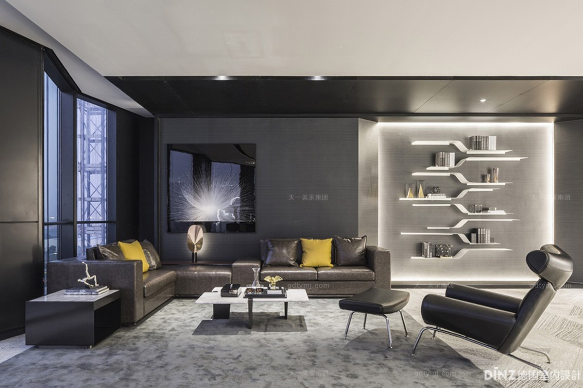 当家具与顶级室内设计艺术完美邂逅,天一美家-广州保利鱼珠港办公销售