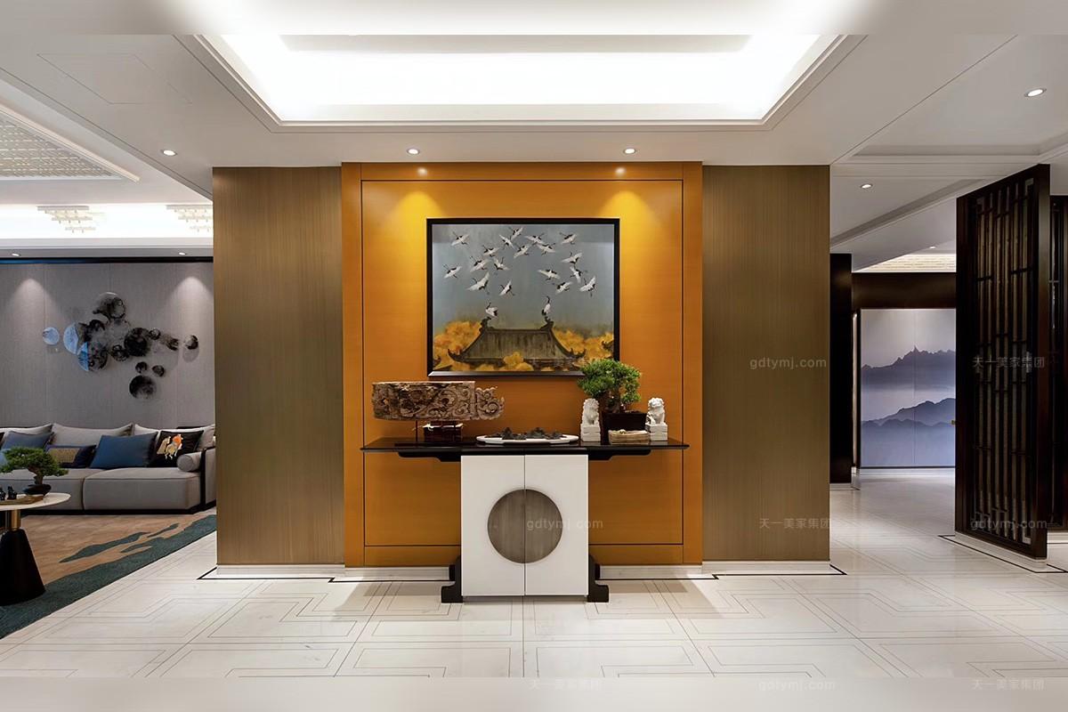 铂宫后海样板间--现代简约,新中式混搭,现代轻奢家具