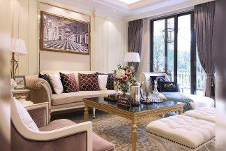 贵州兴义轻奢别墅家具样板房、软装工程项目案例完美呈现(—)!