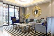 贵州兴义别墅家具、轻奢样板房家具、软装工程项目案例场景展示(二)!