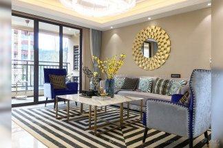 貴州興義別墅家具、輕奢樣板房家具、軟裝工程項目案例場景展示(二)!