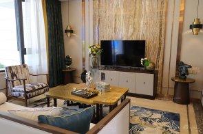 现代轻奢&新中式88bf必发娱乐样板间家具、软装饰品工程--信阳荣盛华府项目88bf必发展