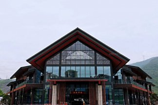 时尚新中式轻奢售楼处&样板间家具、软装饰品--重庆山水华府项目案例完美