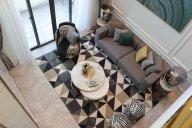 新中式、轻奢风样板房家具、软装饰品工程--信阳天福山河官邸项目案例展示!