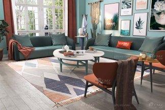 这样的融合当代艺术元素的后现代轻奢沙发,你见过没有?