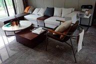 现代简约风格售楼处、样板间家具案例--赣州新旅明樾府样板间家具项目工程欣赏!