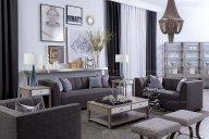 """这才是""""高级灰""""家具风格,一种与生俱来的高雅贵族气质!"""