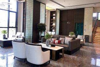 天一美家 | 河南太康銀城上和院新中式、現代輕奢售樓處及樣板間工程案例!