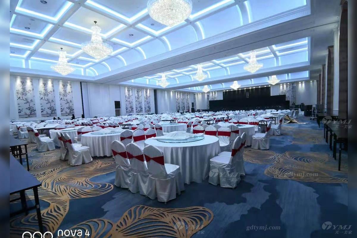 五星级酒店家具宴会厅餐桌椅