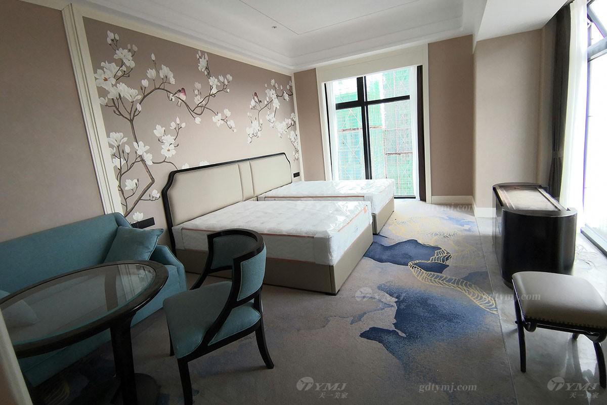 五星级酒店家具豪华双人床