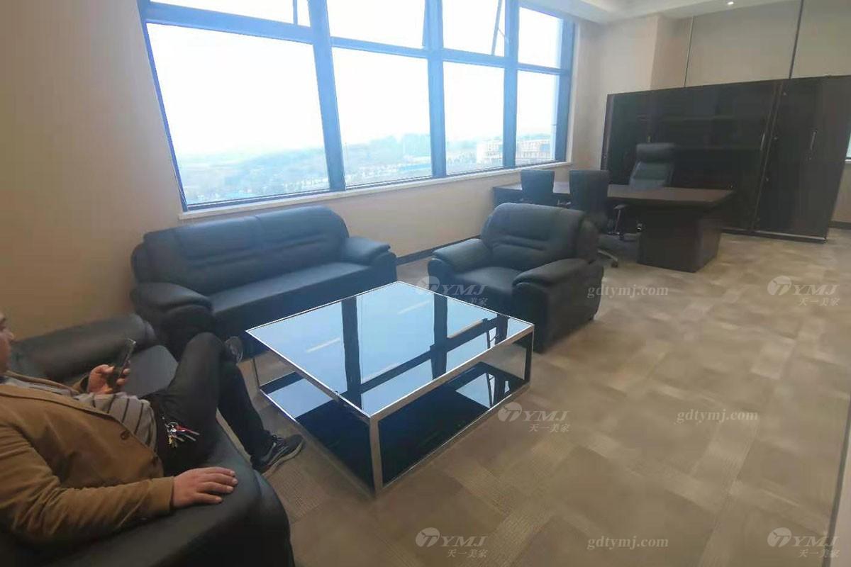 星级酒店真皮办公沙发