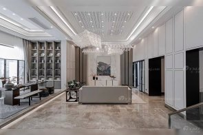 江苏扬州新中式私家别墅家具项目样板房实景案例完工!