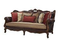 古典进口橡木纯手工雕花 打造高端欧式真皮沙发!