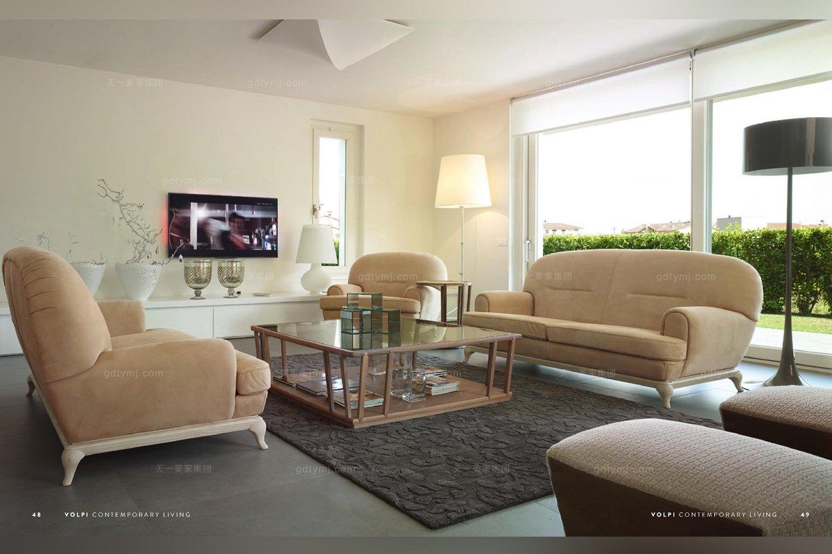 意大利客厅沙发
