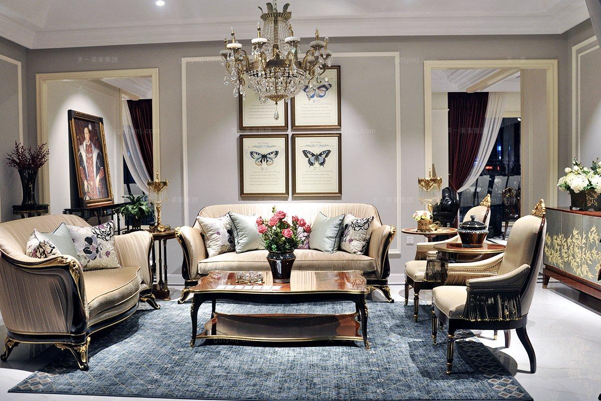 家装高端欧式家具风格有哪些分类 高清欧式风格家具效果图大好