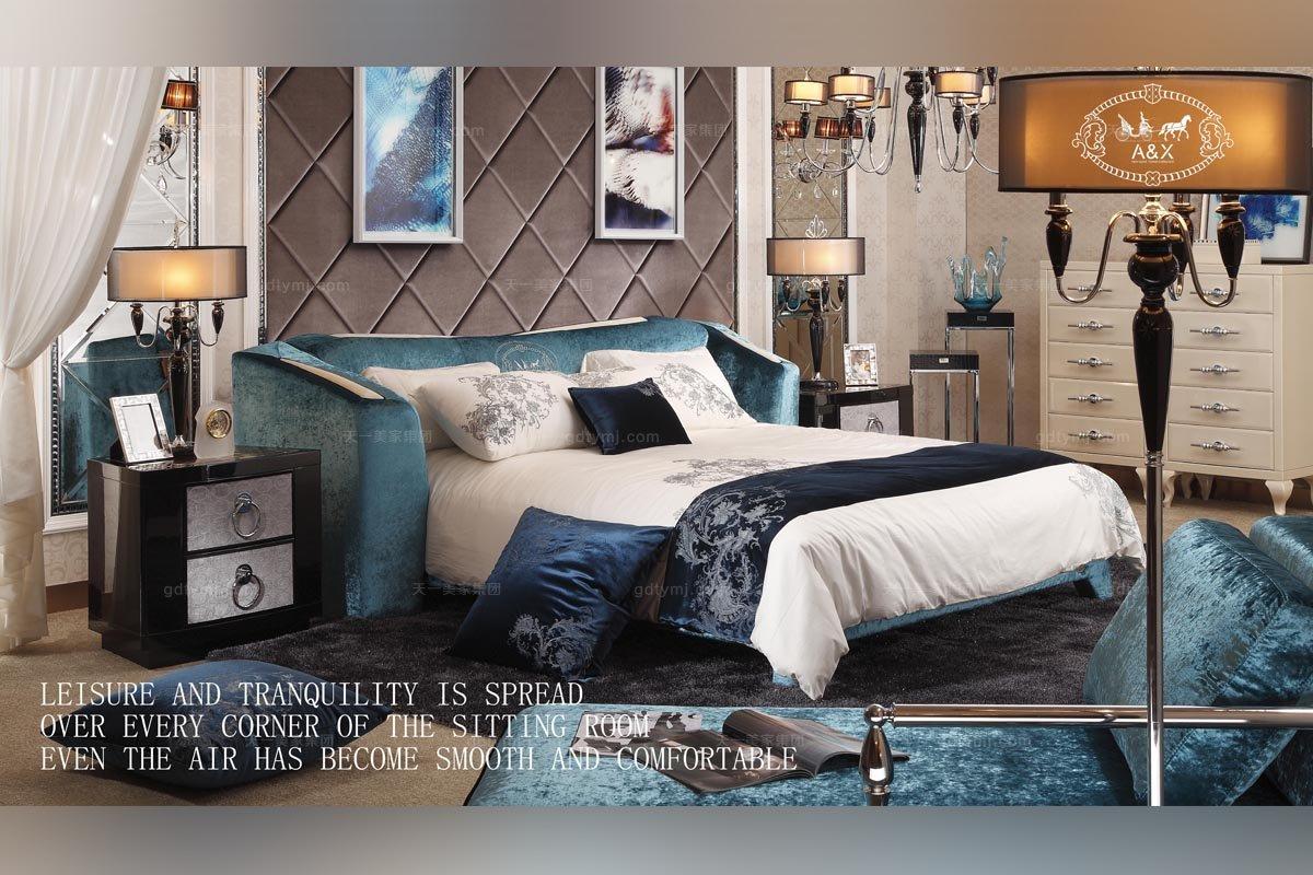 精美的别墅简欧家具,带给你明亮的体验