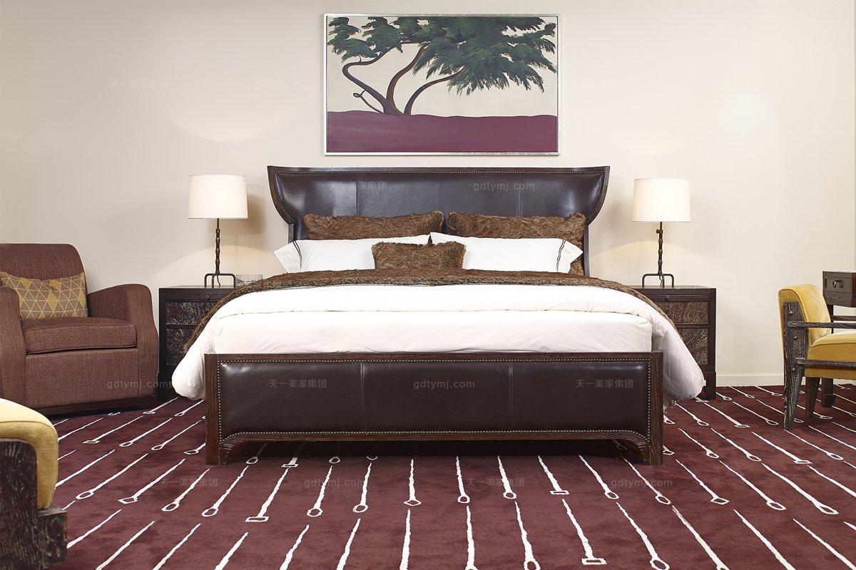 美式《小别离》同款双人床