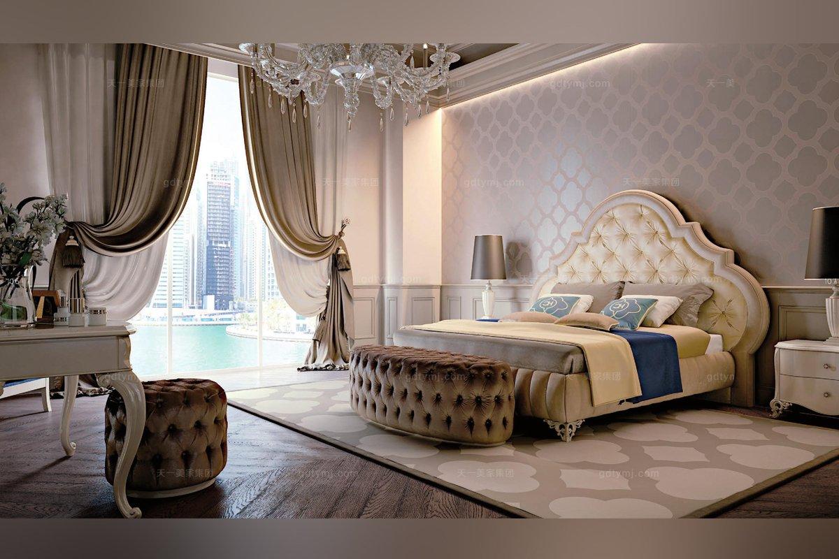 意大利进口卧室双人床