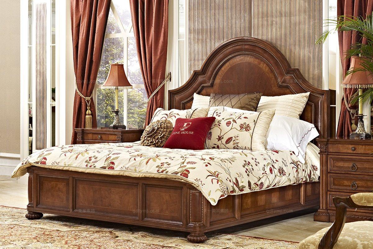 美式家具双人床