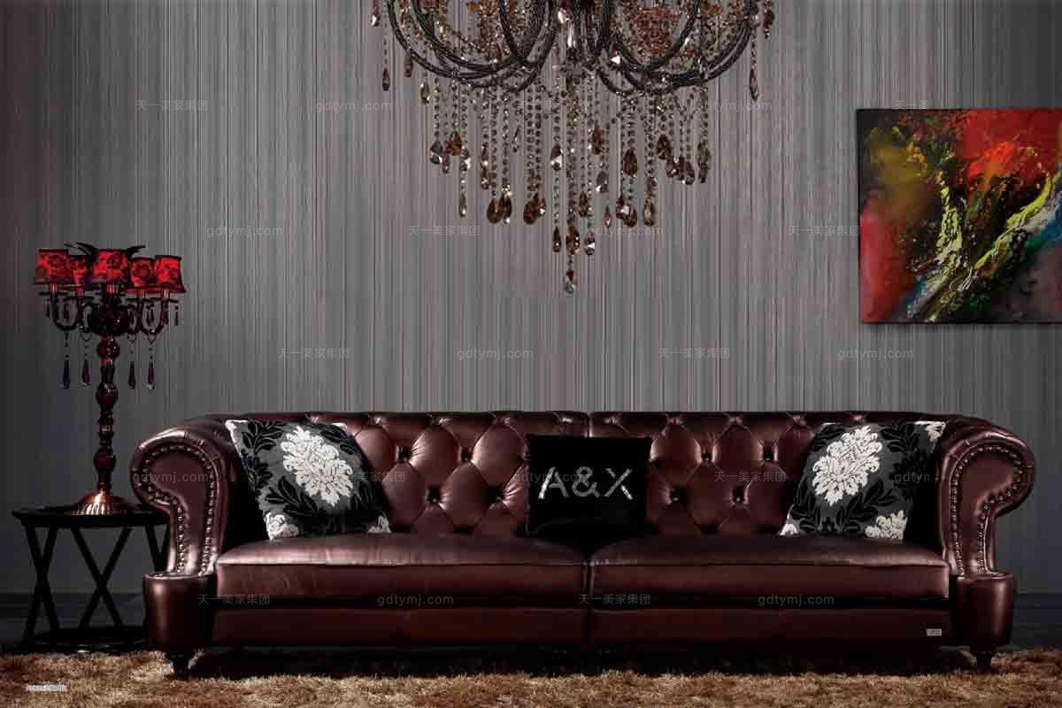 后现代三位沙发